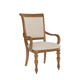 American Drew Grand Isle Arm Chair in Amber (Set of 2)