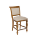 American Drew Grand Isle Counter Height Barstool in Amber (Set of 2)