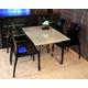 Domitalia 5pc Esprit-V Rectangular Folding Dining Room Set