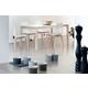 Domitalia 5pc Universe-182 Rectangular Dining Room Set