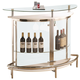 Coaster Bar Unit with Clear Acrylic Front 101066