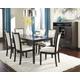 Trishelle 7pc Rectangular Dining Table Set