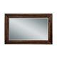 Bernhardt Normandie Manor Landscape Mirror in Caffe Brown 317-321
