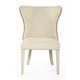 Bernhardt Salon Upholstered Wing Dining Chair in Alabaster (Set of 2) 341-541