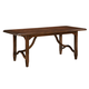 Paula Deen River House Rectangular Kitchen Dining Table in River Bank 393652