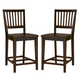 Paula Deen River House Counter Height Chair in River Bank (Set of 2) 393604-RTA