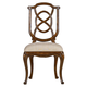 Stanley Furniture Arrondissement Tuileries Side Chair in Heirloom Cherry 222-11-60 (Set of 2)