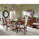 Stanley Furniture Arrondissement 7-Piece Famille Pedestal Table Dining Set in Heirloom Cherry