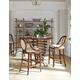 Stanley Furniture Arrondissement 3-Piece Brasserie Pub Table Set in Heirloom Cherry