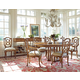 Stanley Furniture Arrondissement 7-Piece Tour Marais Table Set in Sunlight Anigre