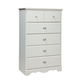 Standard Furniture Daphne Youth Drawer Chest in Soft White