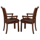 New Classic Sheridan Arm Chair in Burhished Cherry 40-005-21 (Set of 2)