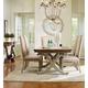 Hooker Furniture Sanctuary 7pc Rectangle Dining Table Set