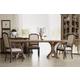 Hooker Furniture Corsica 7pc Rectangle Pedestal Dining Table Set