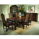 A.R.T. Valencia 7pc Trestle Dining Set in Port