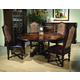 A.R.T. Valencia 5pc Round Dining Set in Port