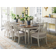 Stanley Furniture Charleston Regency 9-Piece Leg Dining Table Set in Ropemakers White