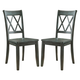 Mestler Side Chair in Antique Blue (Set of 2) D540-101