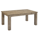 Mestler Rectangular Textured Dining Table in Bisque D540-225