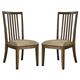 Birnalla Upholstered Side Chair in Light Brown (Set of 2) D585-01