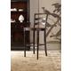 Hooker Furniture Eastridge Ladderback Bar Stool (Set of 2) 5177-75360