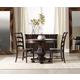 Hooker Furniture Eastridge 3pc Round Pedestal Dining Table Set