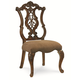 Legacy Classic Pemberleigh Pierced Back Side Chair in Brandy Finish 3100-140 KD (Set of 2)
