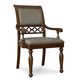 Legacy Classic Thornhill Upholstered Arm Chair in Cinnamon Finish 3305-341 KD (Set of 2)