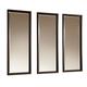 Legacy Classic Kateri Set of Triple Mirrors in Hazelnut Finish 3600-0900