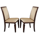 Acme Agatha Side Chair (Set of 2) in Espresso 70487