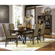 Legacy Classic Kateri Rectangular Trestle Table Dining Set