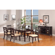 Acme Beale 7PC Extendable Dining Room Set in Espresso