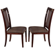 Acme Camelot Dining Side Chair (Set of 2) in Espresso 70702