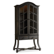 Hooker Furniture Corsica Display Cabinet in Antiqued Espresso 5280-75908
