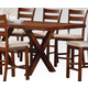Acme Daryn Counter Height Dining Table in Oak 60100