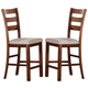 Acme Daryn Counter Height Chairs (Set of 2) in Oak 60102