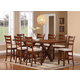 Acme Daryn 7PC Counter Height Dining Room Set in Oak