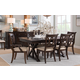 Legacy Classic Thatcher Rectangular Trestle Table Dining Set