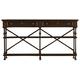 Stanley Furniture European Farmhouse Belgian Cross Huntboard in Terrain 018-11-06 CLOSEOUT