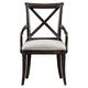 Stanley Furniture European Farmhouse Fairleigh Fields Host Chair (Set of 2) in Terrain 018-11-70