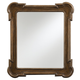 Stanley Furniture European Farmhouse Captain's Fluted Edge Mirror in Blond 018-61-36