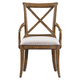 Stanley Furniture European Farmhouse Fairleigh Fields Host Chair (Set of 2) in Blond 018-61-70