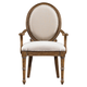 Stanley Furniture European Farmhouse Million Stars Hostess Chair (Set of 2) in Blond 018-61-71