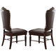 Acme Judith Dining Side Chair (Set of 2) in Cherry 60373