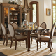 Stanley Furniture European Farmhouse 7-Piece Farmer's Market Table Set in Blond