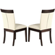 Acme Keelin Dining Side Chairs (Set of 2) in Espresso 71038