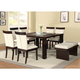 Acme Keelin 7PC Dining Room Set with Insert Table Top in Espresso