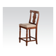 Acme Marceo Counter Height Chair in Distressed Brown 70887