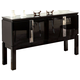 Acme Prisca Server in Black 70989