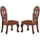 Acme Quinlan Dining Side Chair (Set of 2) in Cherry 60268